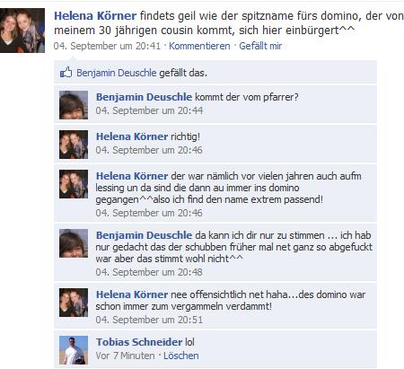 Facebook - Unterhaltung