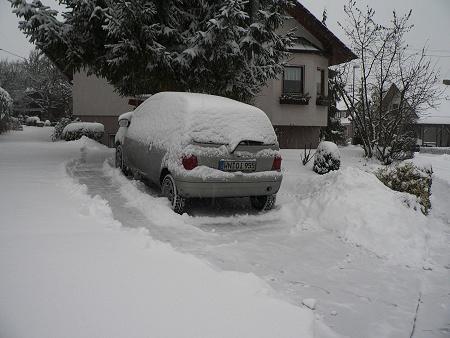 Schnee in Tübingen