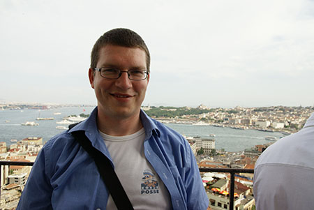 Tobias in Istanbul