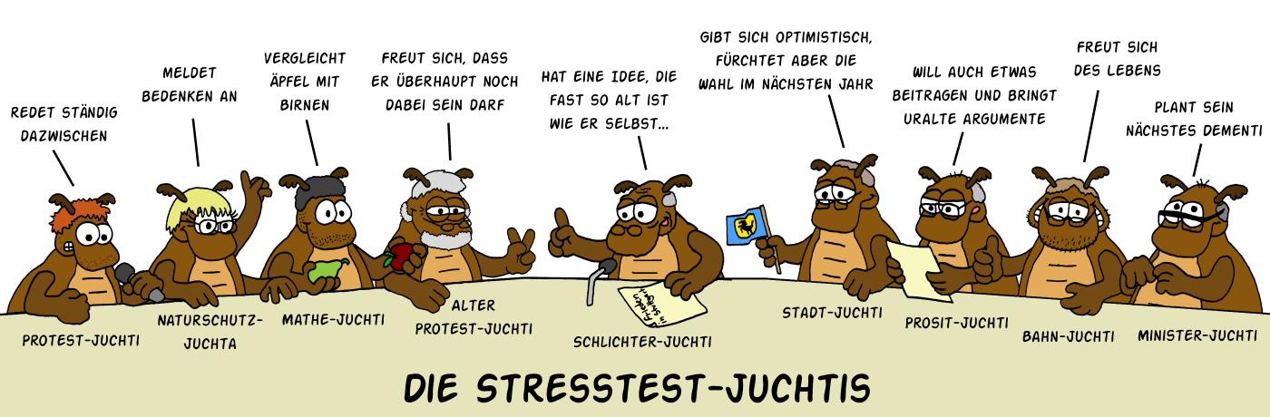 Stresstest-Juchtis