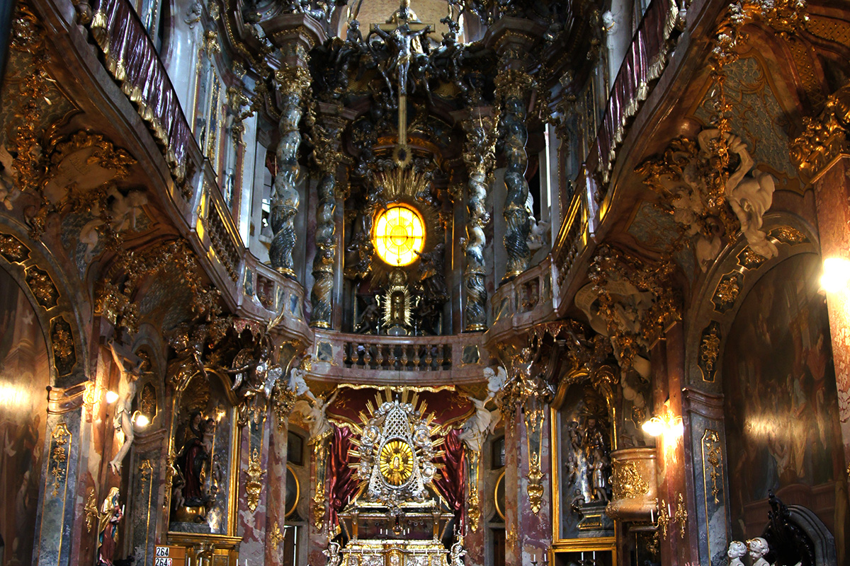 Barockflash in der Asamkirche