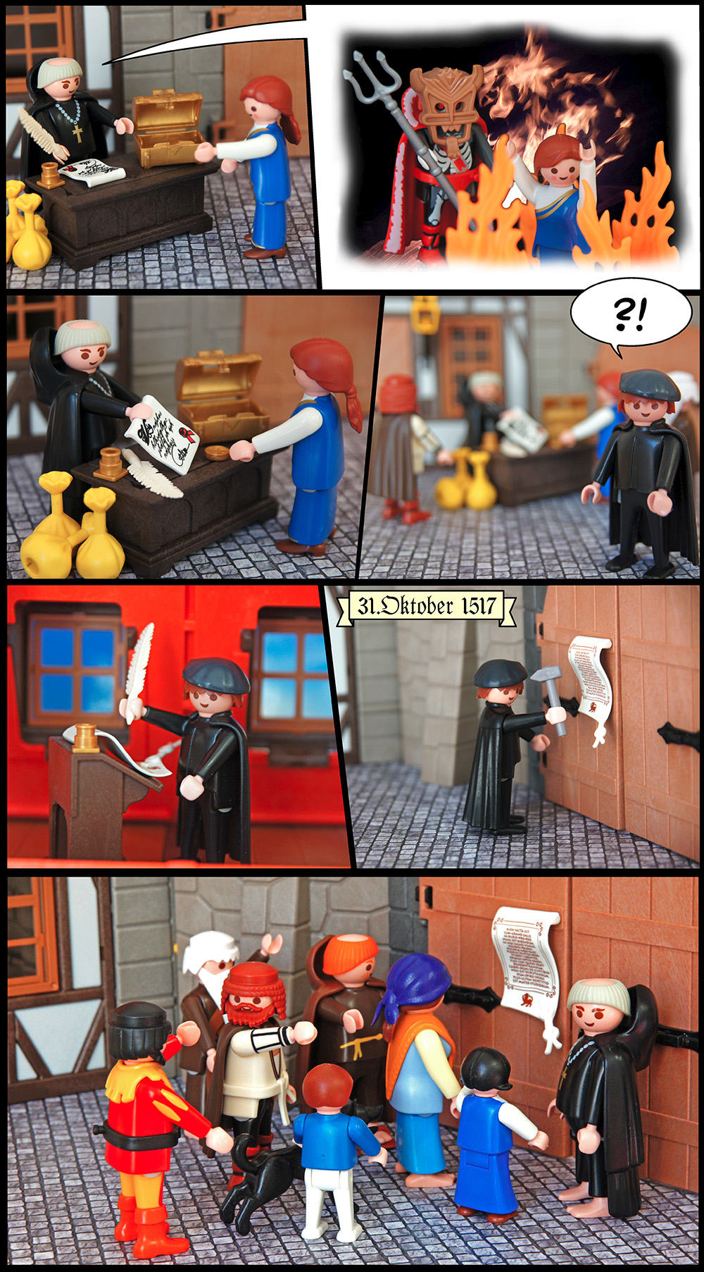 Reformation in Playmobil